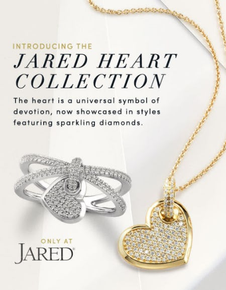 Introducing The Jared Heart Collection from Jared Galleria Of Jewelry