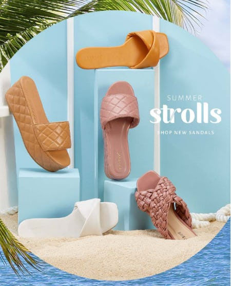 New Sandals from Versona