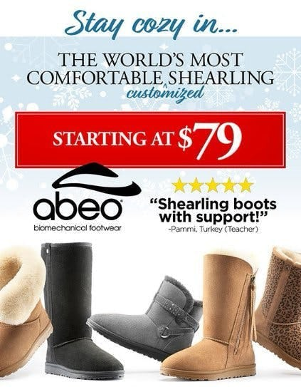 Shearling Boots Starting at $79