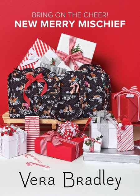 Bring on the Cheer! from Vera Bradley