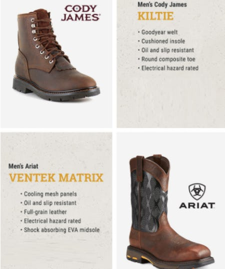 Shop Our New Boots from Boot Barn Western And Work Wear