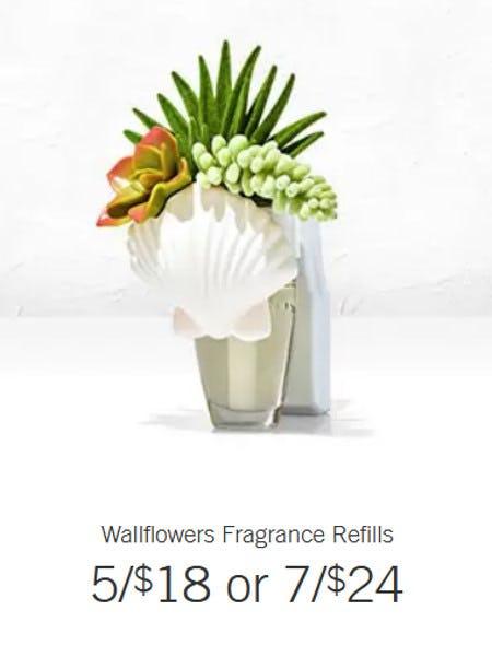 Wallflowers Fragrance Refills 5 for $18 or 7 for $24