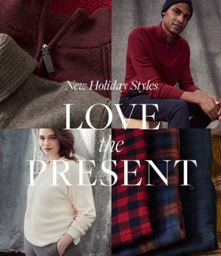 New Holiday Styles: Love the Present from Banana Republic