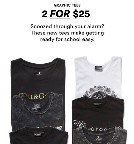 2 For $25 Graphic Tees from Cotton On/Cotton On Kids
