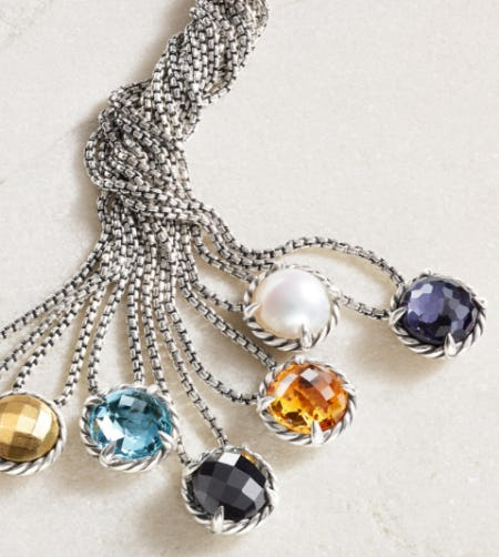 Colorful Necklaces from David Yurman