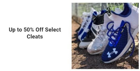 Up to 50% Off Cleats from Dick's Sporting Goods