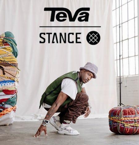 Introducing Teva x Stance