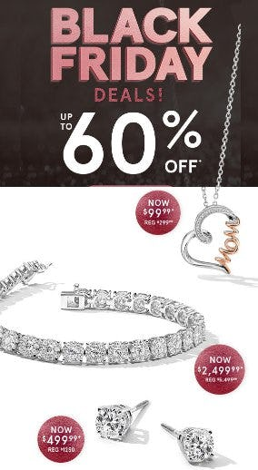 Black Friday Deals up to 60% Off from Kay Jewelers