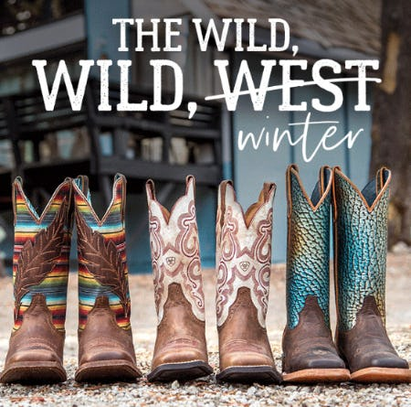 Boots for The Wildest of Winters from Boot Barn Western And Work Wear