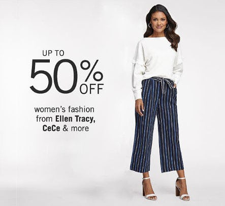Up to 50% Off Women's Fashion