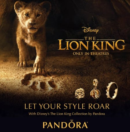 PANDORA NEW Lion King Collection