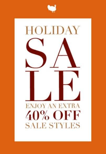 Extra 40% Off Holiday Sale from Everything But Water