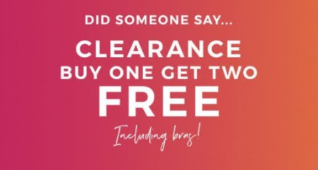 Clearance Buy One, Get Two Free from Lane Bryant