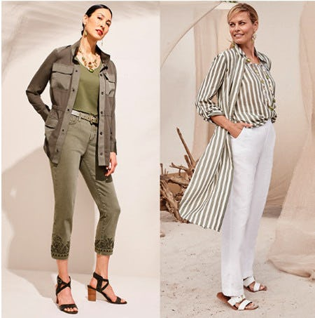 Color of the Moment: Green from Chico's
