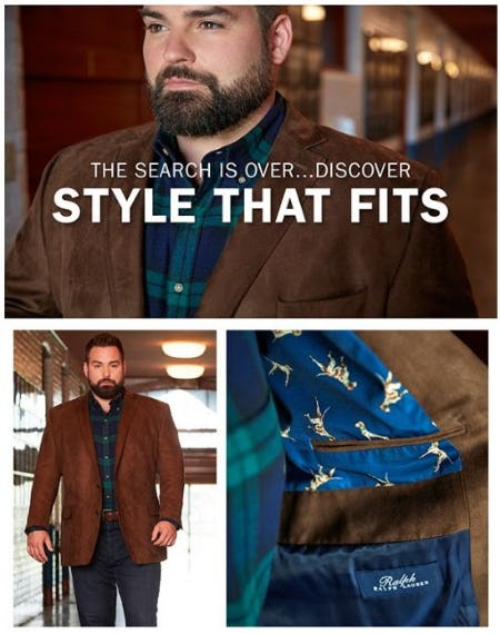 Sport Coats Built to Move with You from Dxl Mens Apparel