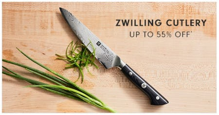 Zwilling Cutlery up to 55% Off