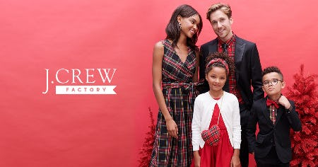 50% OFF STOREWIDE! from J. Crew Factory