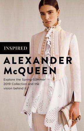Alexander McQueen's New Romantics