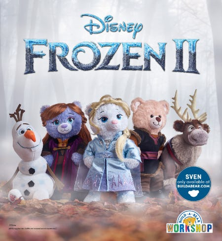 Prepare for Adventure with NEW Disney Frozen 2 Arrivals at  Build-A-Bear Workshop!®