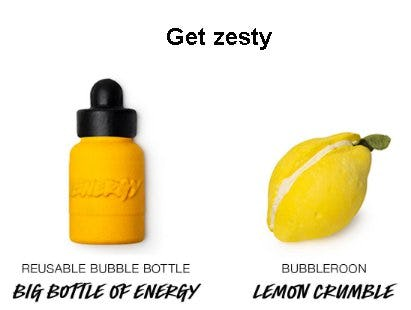 Get Zesty from LUSH