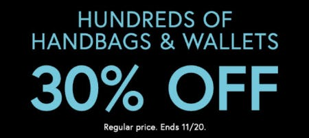 30% Off Handbags & Wallets from Charming Charlie