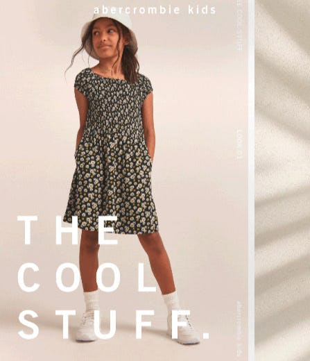 The Cool Stuff from Abercrombie Kids