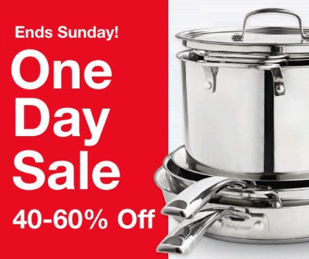 One Day Sale 40-60% Off from macy's