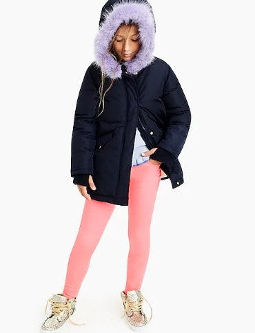 Girls' Fishtail Parka with Primaloft® from J.Crew