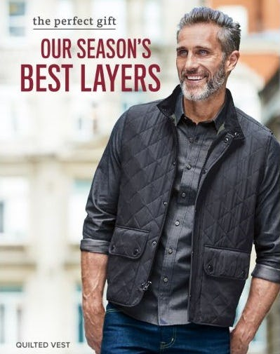 The Perfect Gift: The Season's Best Layers from UNTUCKit
