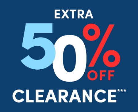 Extra 50% Off on Clearance from J.Crew Factory