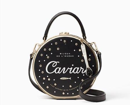 Finer Things Caviar Bag