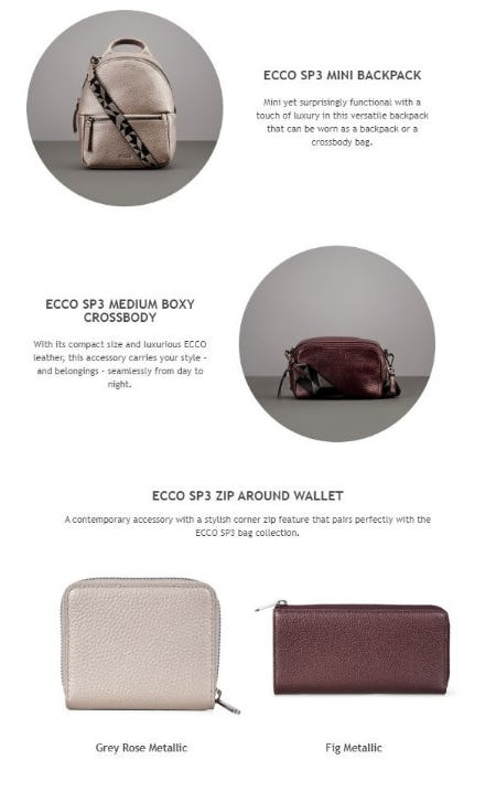 ECCO SP3 Collection: Your New Statement Piece from ECCO