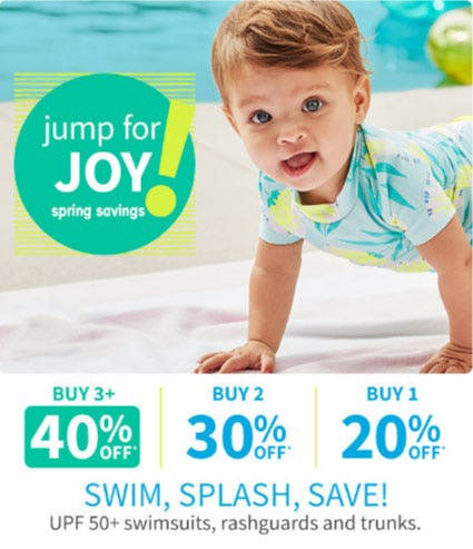Up to 40% Off When You Buy 3+ Swimwear