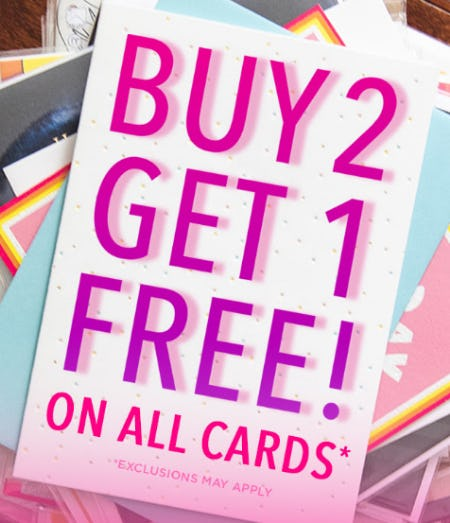 B2G1 Free on All Cards from PAPYRUS