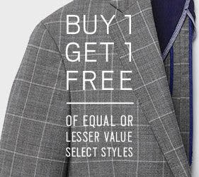 Buy 1, Get 1 Free from Men's Wearhouse