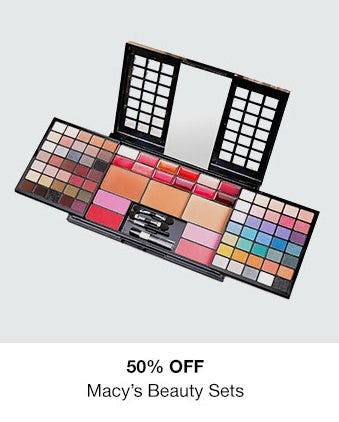 50% Off Macy's Beauty Sets