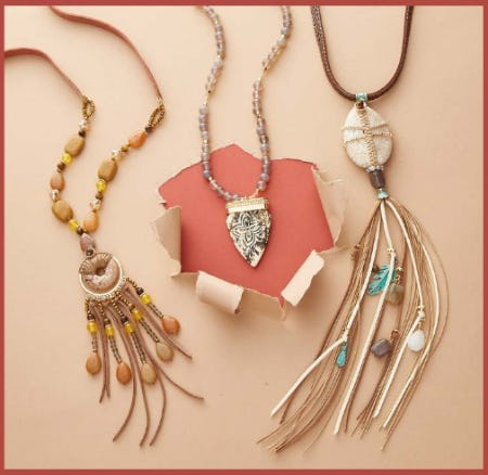 Shop New Necklaces