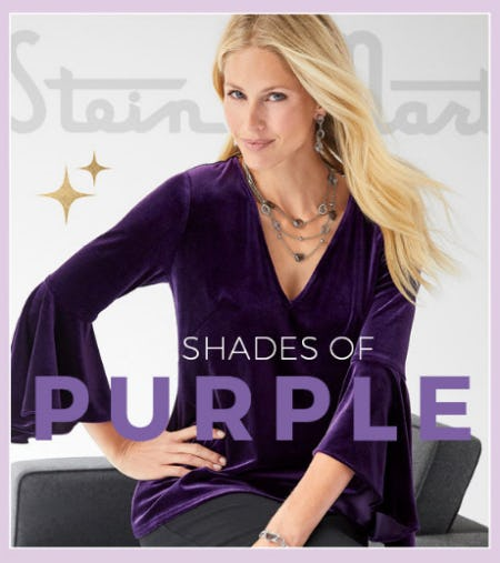 Shades of Purple from Stein Mart