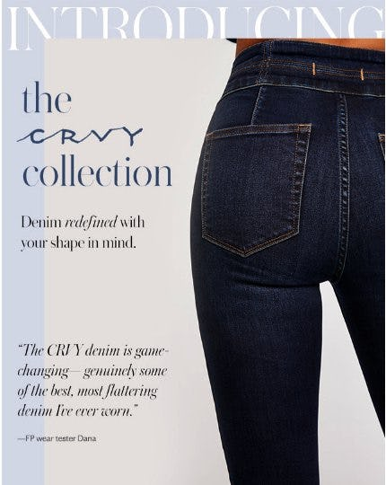 Introducing The CRVY Collection from Free People