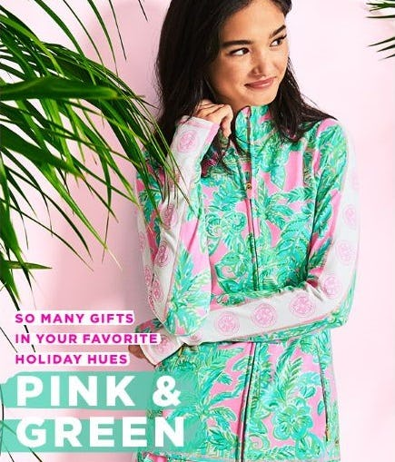 Our Holiday Colors: Pink & Green from Lilly Pulitzer