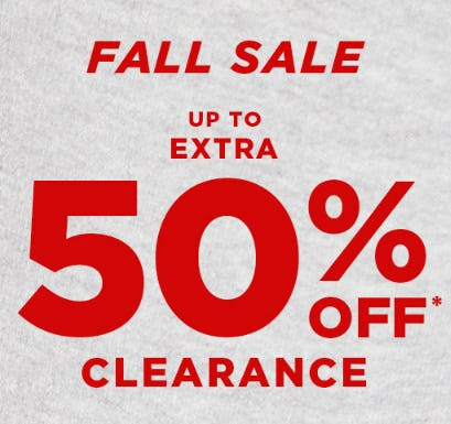 Fall Sale from Tillys