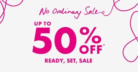No Ordinary Sale: Up to 50% Off from Ted Baker London