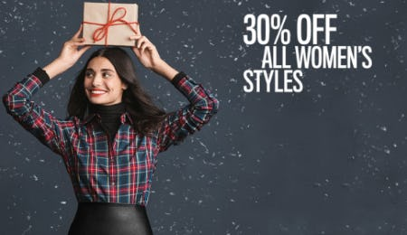 30% Off on All Women's Styles from UNTUCKit