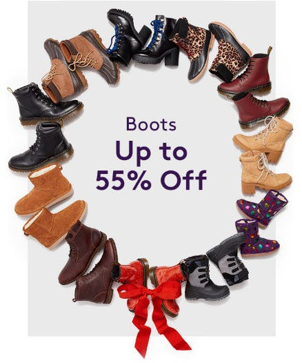 Up to 55% Off Boots from Nordstrom Rack