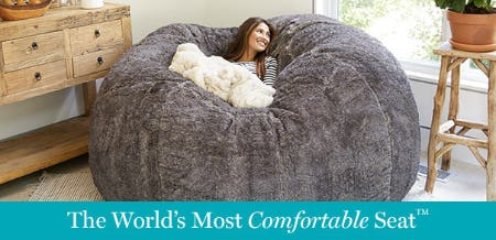 The World's Most Comfortable Seat™ from Lovesac Alternative Furniture