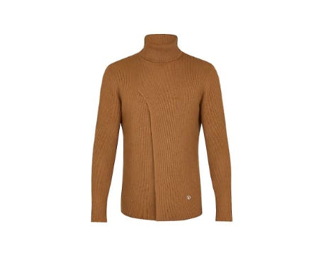 Rib Slit Roll Neck from LOUIS VUITTON