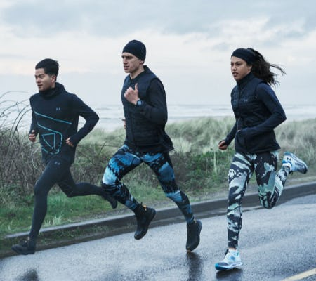 The Right Jacket for Any Weather from Under Armour