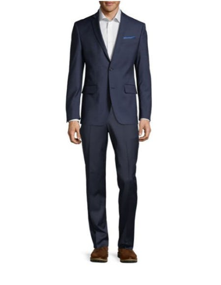 The Mason Fit Stretch Twill Dress Pants from Lord & Taylor