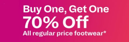 BOGO 70% Offegular Price Footwear from Call It Spring