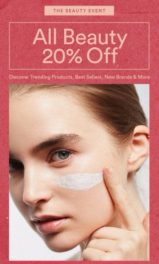 All Beauty 20% Off